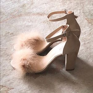 Shoes - Blush Party Heels NWT
